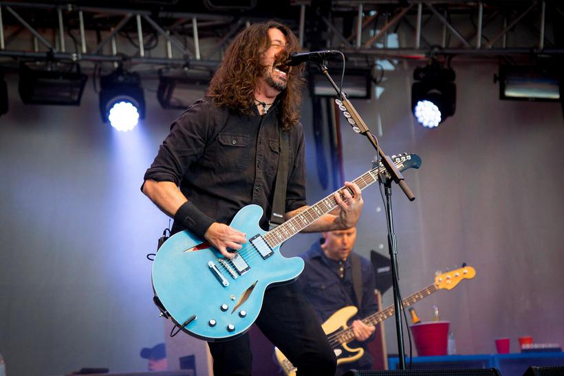 Foo Fighters was the final number on Friday.