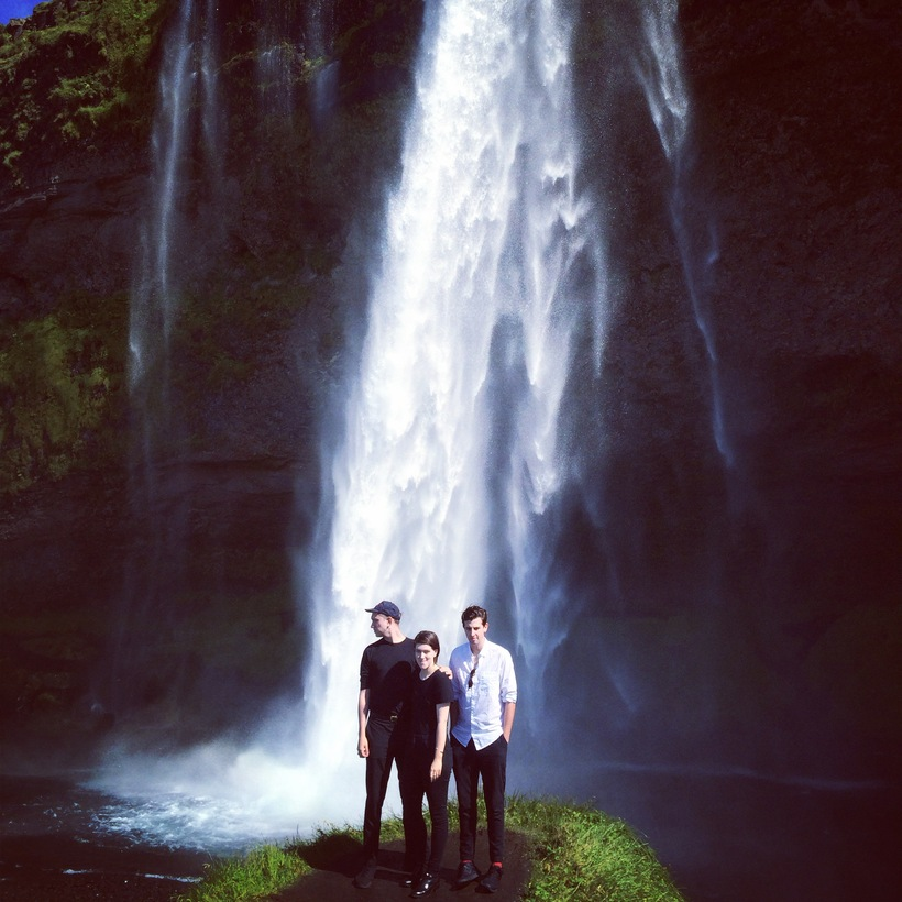 The xx at Seljalands waterfall in South Iceland in 2015. ...