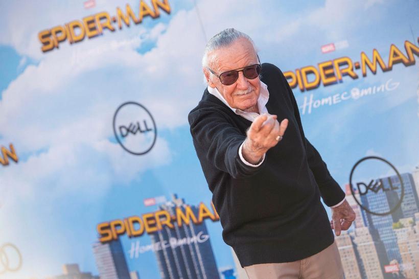 Stan Lee er ekki ókunnugur kóngulóarmanninum.