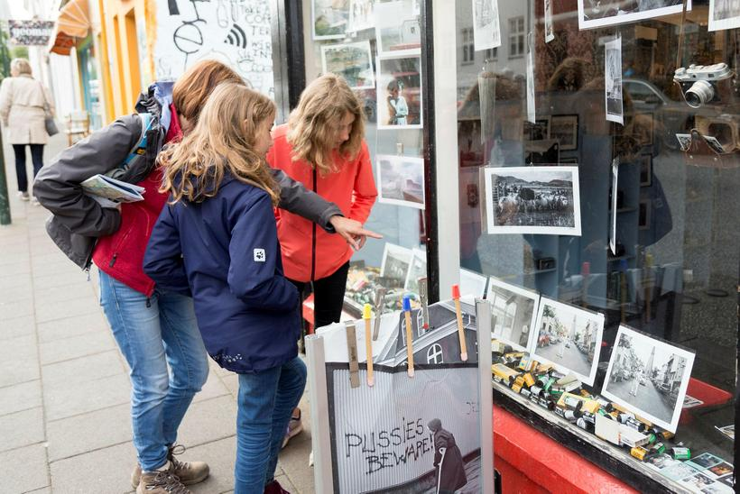 Our journalist spoke to tourists walking the streets of Reykjavik …