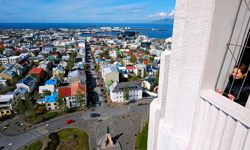 Most tourists stop in Reykjavik.