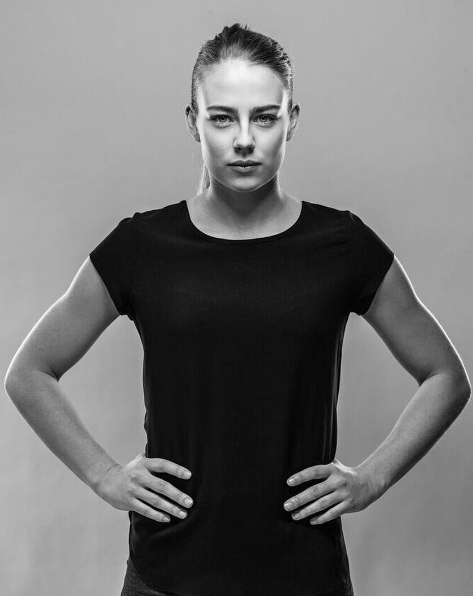 Elín Metta Jensen landsliðskona.