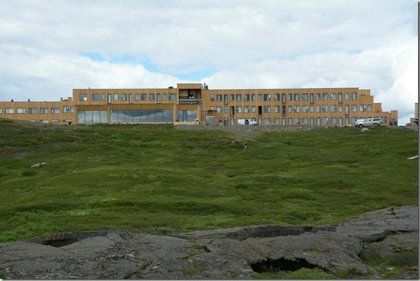 Nýtt Fosshótel í Mývatnssveit sem opnað var um síðustu helgi.