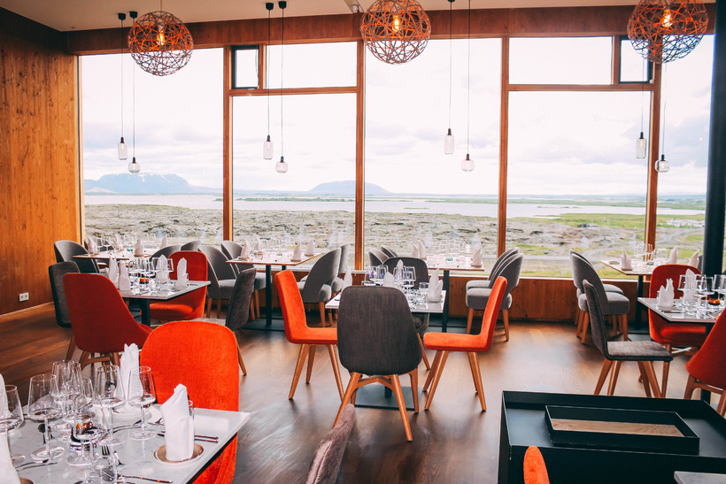 Fosshótel Mývatn also features a restaurant seating 120 people and …
