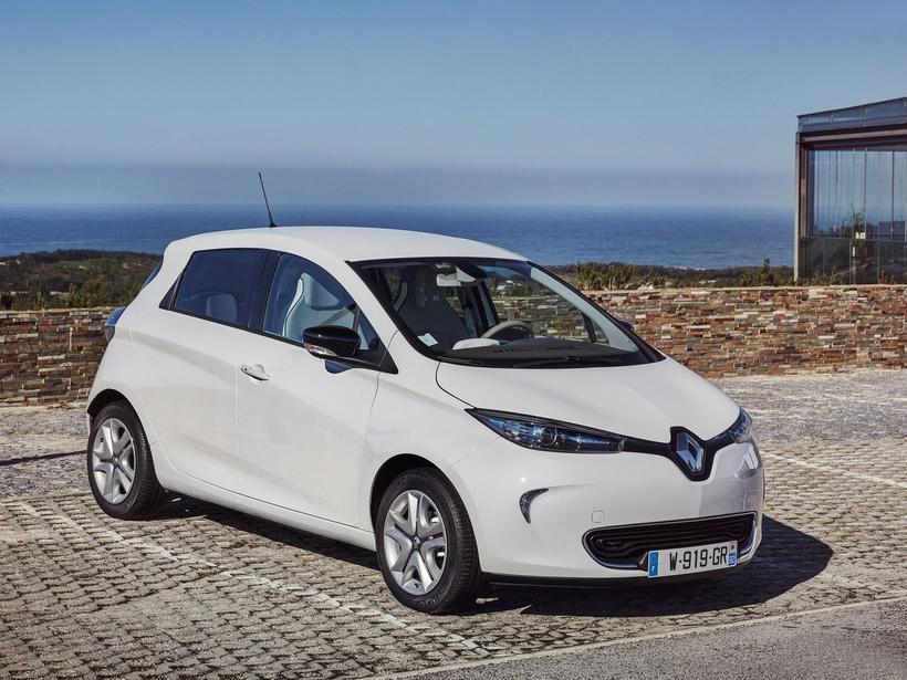 Hinn langdrægi Renault Zoe nýtur fádæma vinsælda víða um heim.