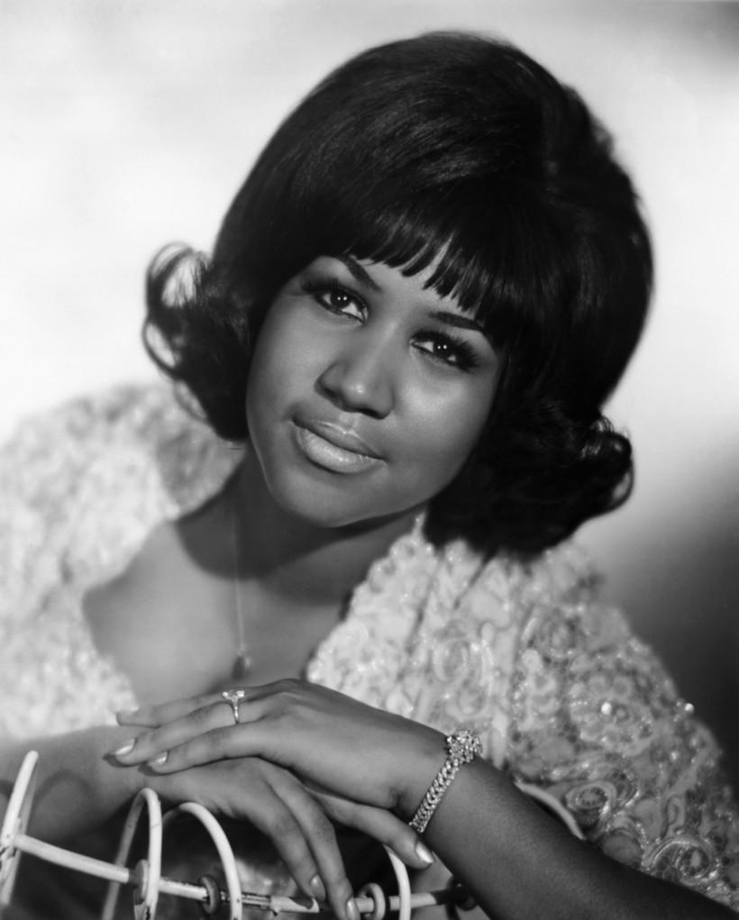 Aretha Franklin var fyrsta konan sem var tekin inn í ...