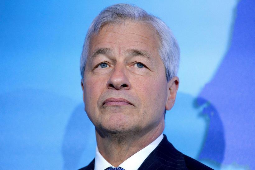 Jamie Dimon, forstjóri JP Morgan, er ekki alls sáttur með ...