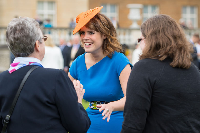 Eugenie prinsessa útskrifaðist árið 2012 með 6 í meðaleinkunn.