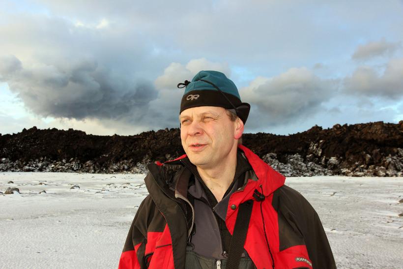Magnús Tumi Guðmundsson, prófessor í jarðeðlisfræði við Háskóla Íslands.