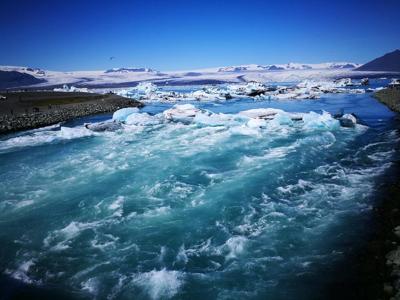 Jökulsárlón tilheyrir nú Vatnajökulsþjóðgarði.