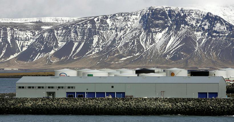 Frá Fiskislóð í Reykjavík.