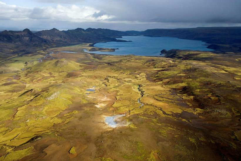 Reykjanes is an area of great geothermal power.