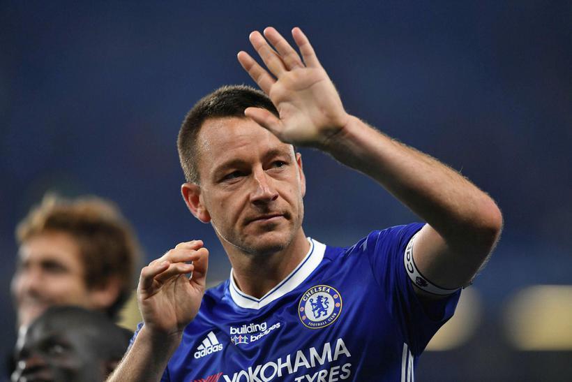 John Terry átti magnaðan feril sem leikmaður Chelsea.