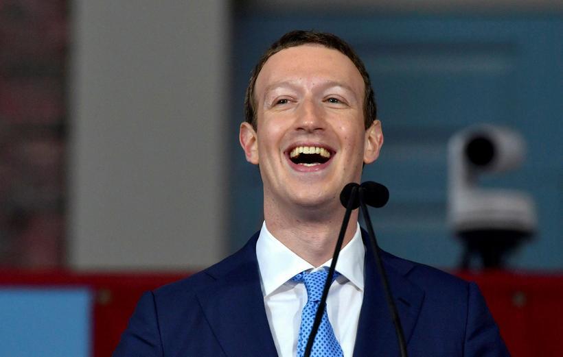 Mark Zuckerberg er forstjóri Facebook sem er nú að þróa ...