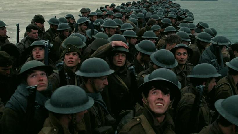 Úr kvikmyndinn Dunkirk eftir Christopher Nolan.