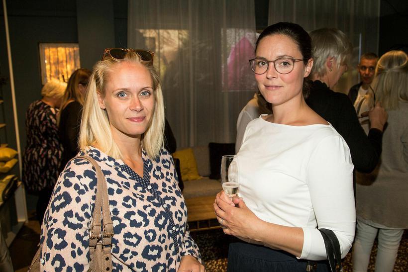 Magdalena Rós Guðnadóttir og Emilía Rós Sigfúsdóttir.
