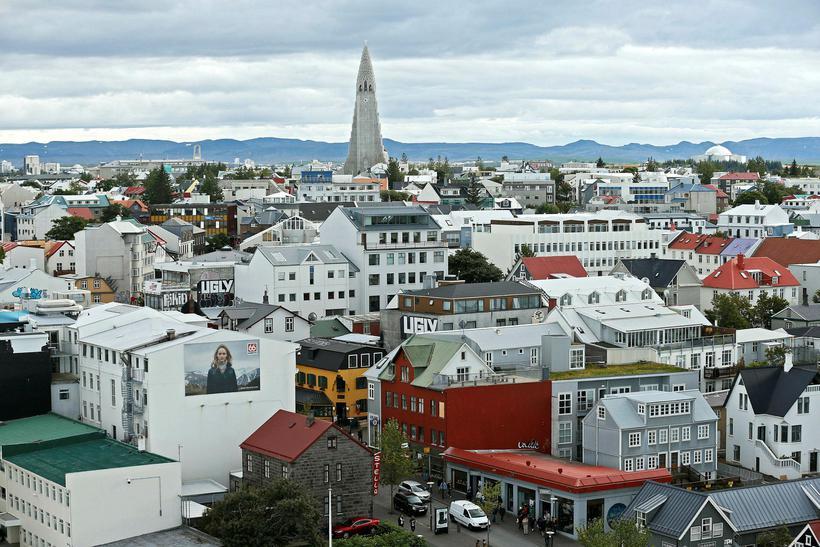 Miðborg Reykjavíkur.