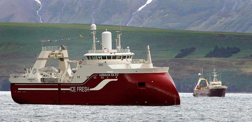 Björgúlfur EA 312 kom til heimahafnar á Dalvík í fyrsta ...
