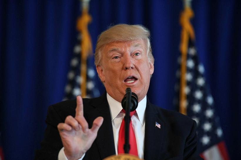 Hvíta húsið segir Trump líka hafa fordæmt hvíta þjóðernissinna.