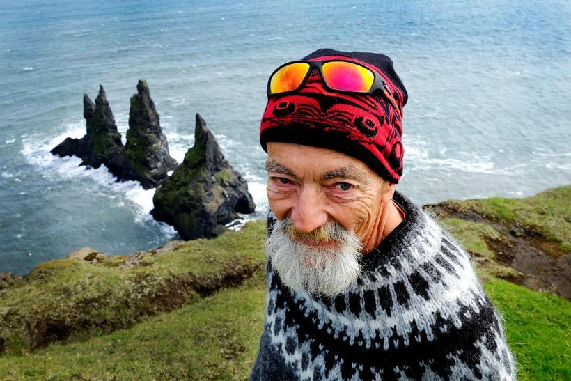 Grampa Dave var sannkallaður ævintýramaður og fór víða til að ...
