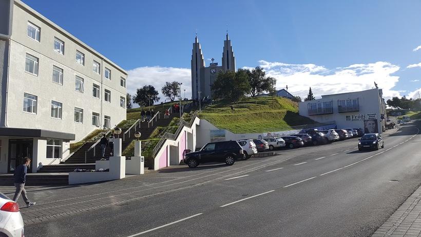 Frá Akureyri.