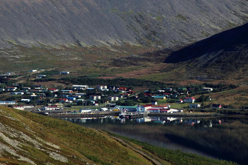 Tálknafjörður is a fjord located in southern Westfjords between Patreksfjörður ...