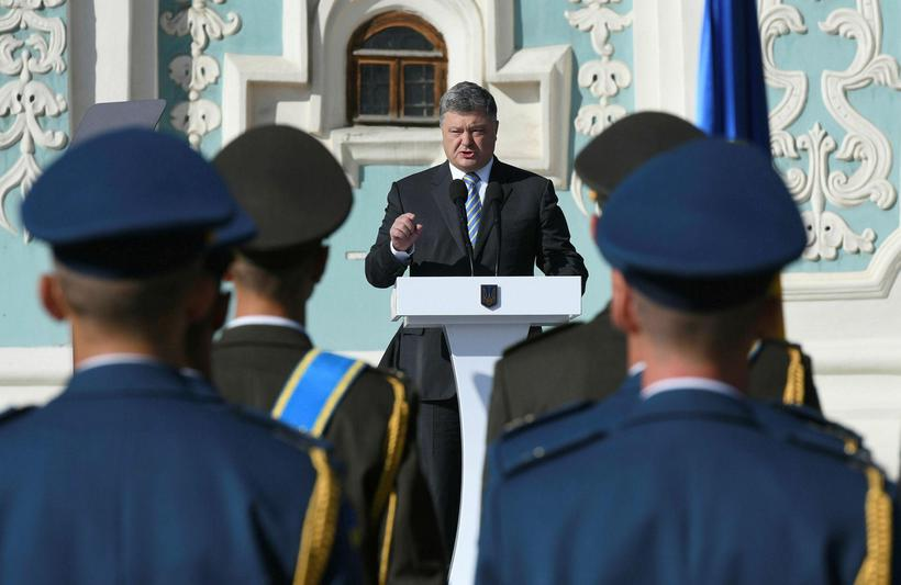 Forseti Úkraínu, Petro Poroshenko.