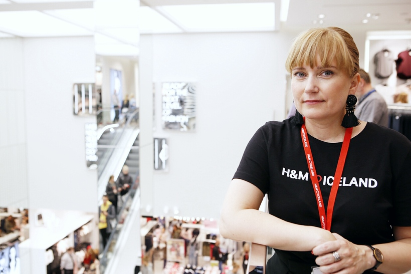 Lovísa Guðmundsdóttir, verslunarstjóri H&M Home.