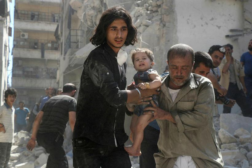 Frá Aleppo.