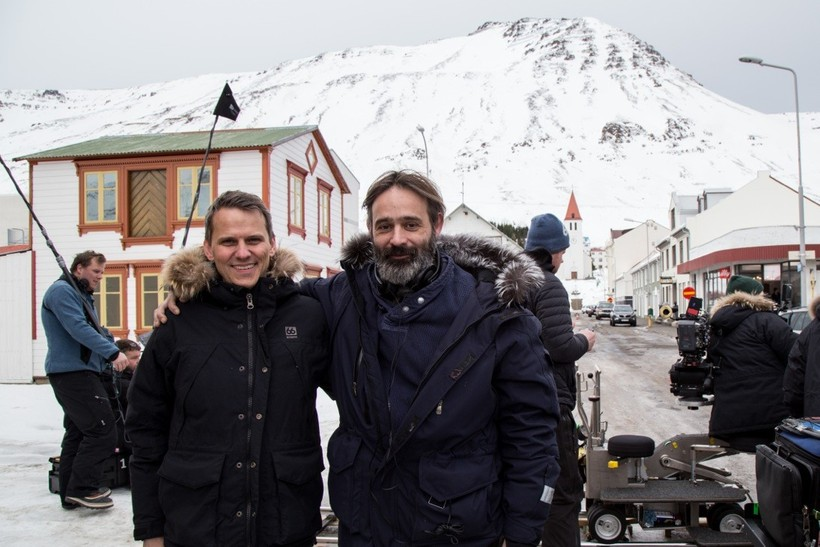Magnús Geir Þórðarson (left) and Baltasar Kormákur (right).
