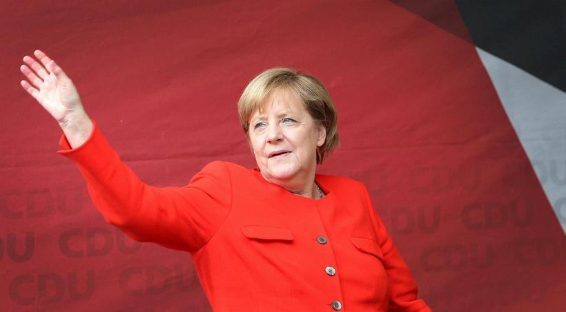 Angela Merkel Þýskalandskanslari. Aslan segir hana ekki telja sjálfa sig ...
