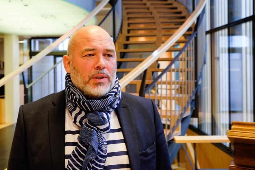 Logi Már Einarsson, formaður Samfylkingarinnar.