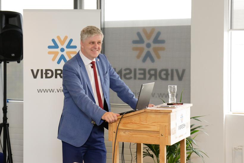 Benedikt Jóhannesson, formaður Viðreisnar.