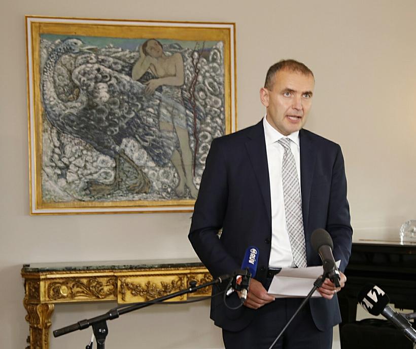 Guðni Th. Jóhannesson forseti Íslands.
