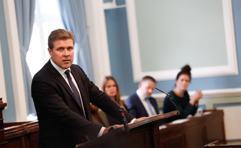 Bjarni Benediktsson forsætisráðherra flutti stefnuræðu sína fyrir tæpri viku og ...