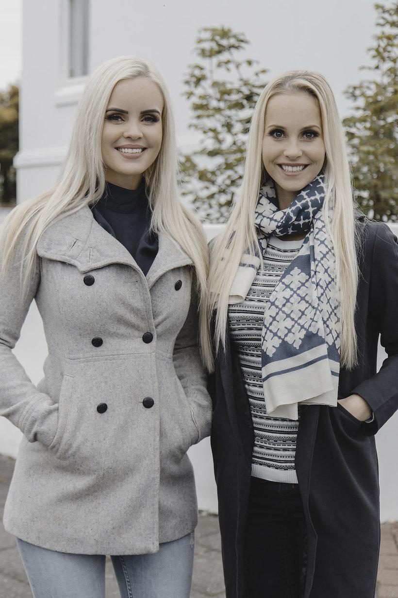 Olga Helana og Eyrún Anna.