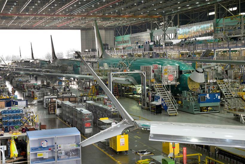 Boeing stefnir ótrautt að því að framleiða 52 MAX-vélar á ...