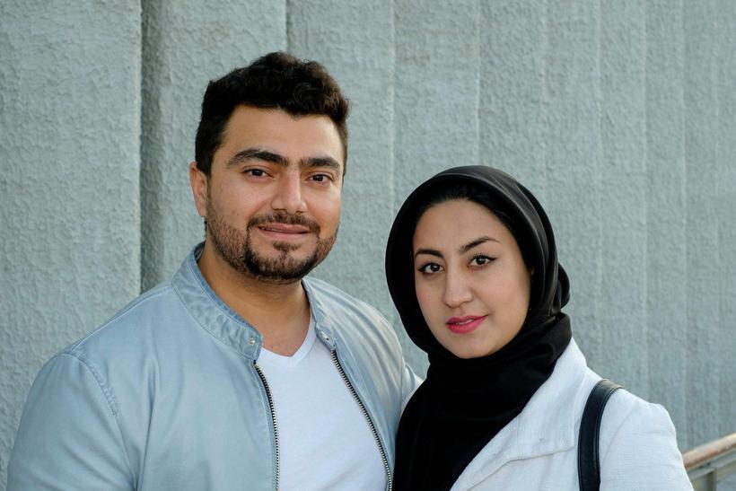 Hassan Raza Akbari og Zahra Mesbah.