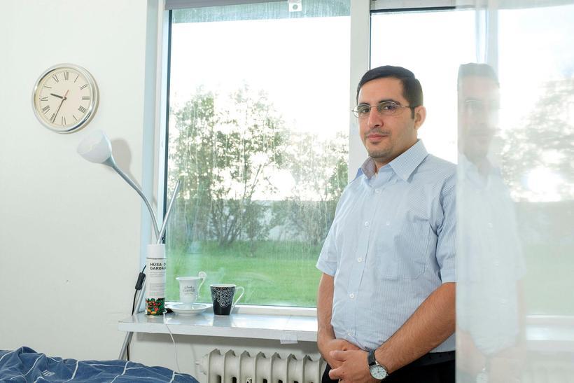 Mohammed Salam al-Taie er menntaður fjarskiptaverkfræðingur frá Írak.