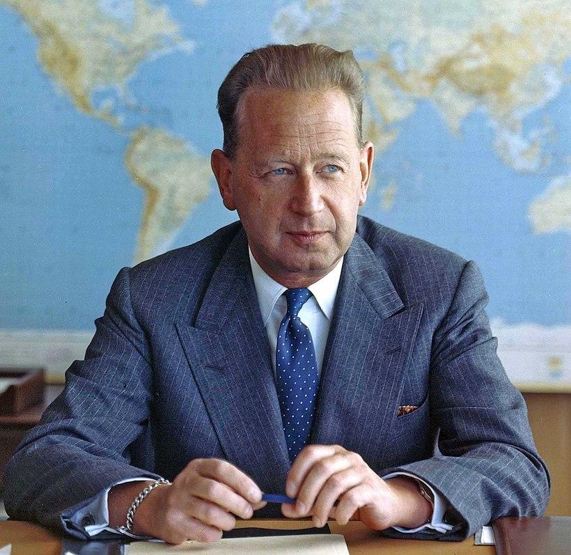 Dag Hammarskjöld, framkvæmdastjóri Sameinuðu þjóðanna 1953-1961.