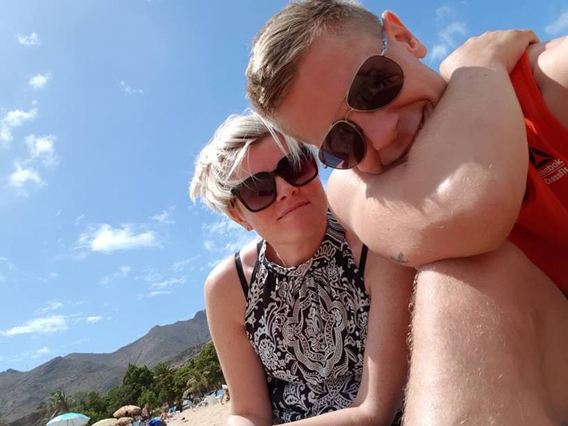 Jóhanna og Svali hafa búið á Tenerife í eitt ár.