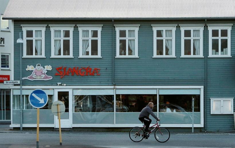 Veitingastaðurinn Sjanghæ.