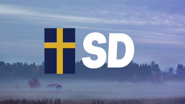 Svíþjóðardemókratar eru þriðji stærsti stjórnmálaflokkurinn á sænska þinginu.