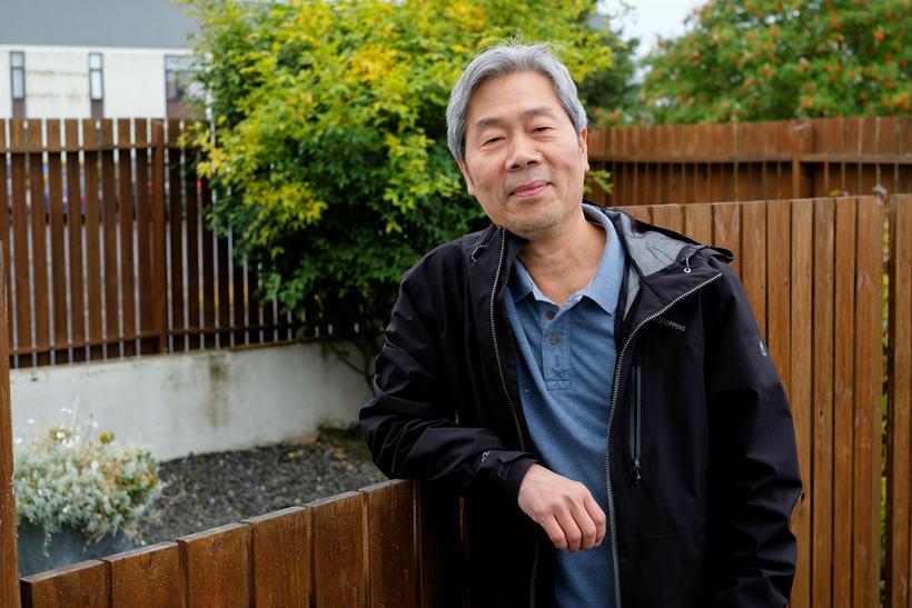 Halldór Nguyen er með gríðarlega góðan orðaforða í íslensku og …