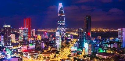 Saigon í dag.