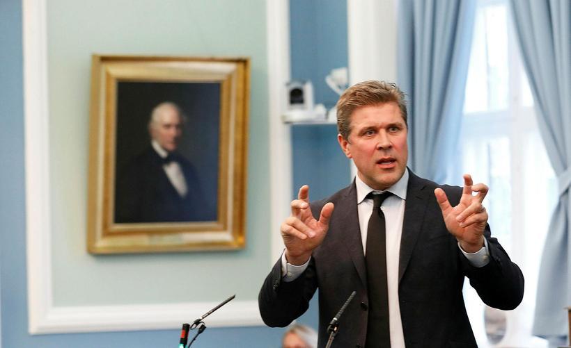 Bjarni Benediktsson ráðherra.