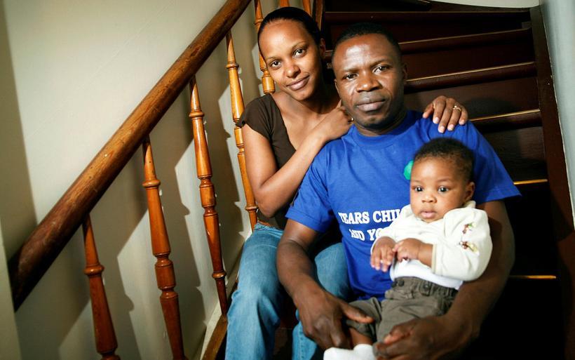 Rosemary Atieno Odhiambo og Paul Ramses Oduor ásamt Fidel Smára …