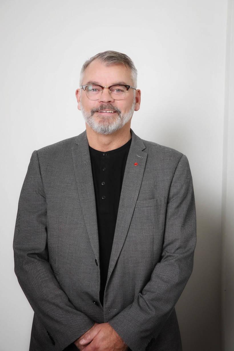 Páll Valur Björnsson er í öðru sæti í Reykjavík norður …