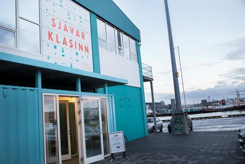 Í húsi Sjávarklasans við Granda í Reykjavík hafa fleiri nýsköpunarfyrirtæki …