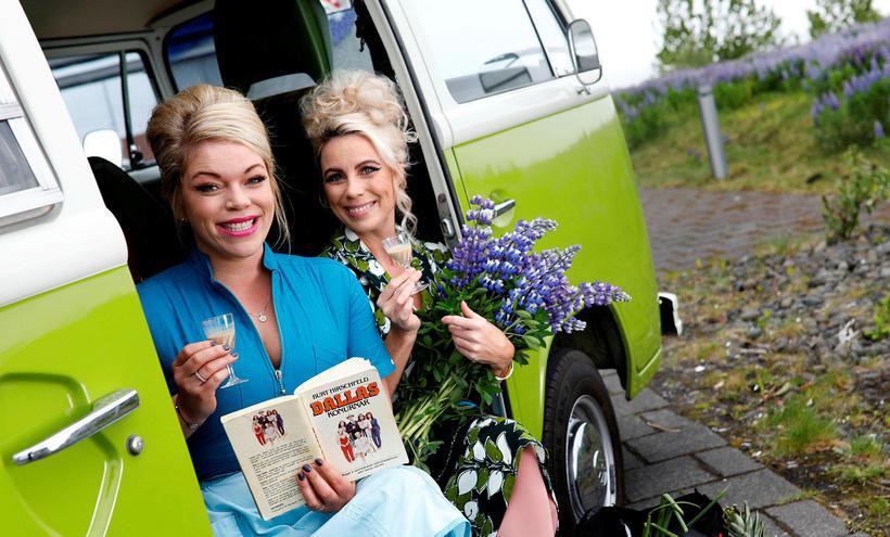 Þorbjörg Marinósdóttir og Þóra Sigurðardóttir.